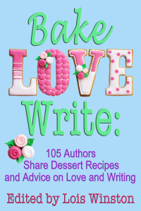 cover BAKE, LOVE, WRITE