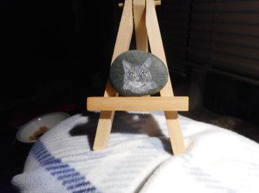 painted rock - marian ganzenberg mea