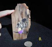 mason auction featherstick on darker rock